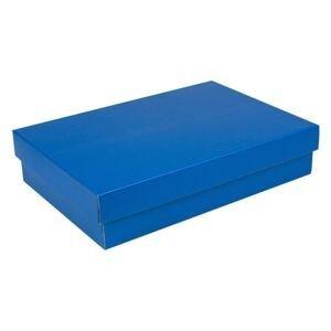 Dárková krabice na košili - modrá
